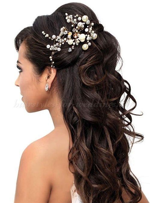 Wish I Had Hair Like This For My Wedding Brides Long Curls Half Up Bouffant Bridal Toni Kami Hairstyles Hairstyle Ideas