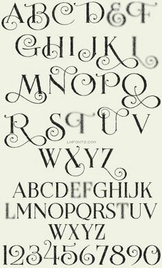Beautiful Calligraphy Fonts Elegant Font Family Hand Lettering Styles Alphabet Writing Families To Draw