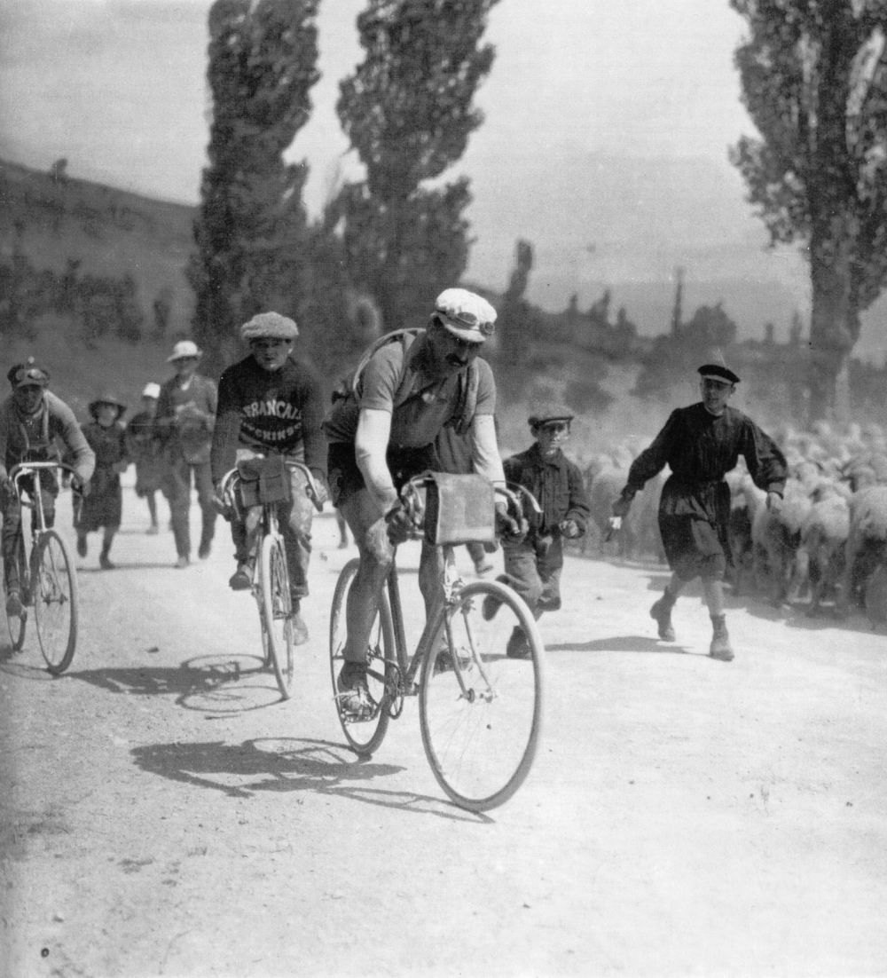 vintage cycling photographs