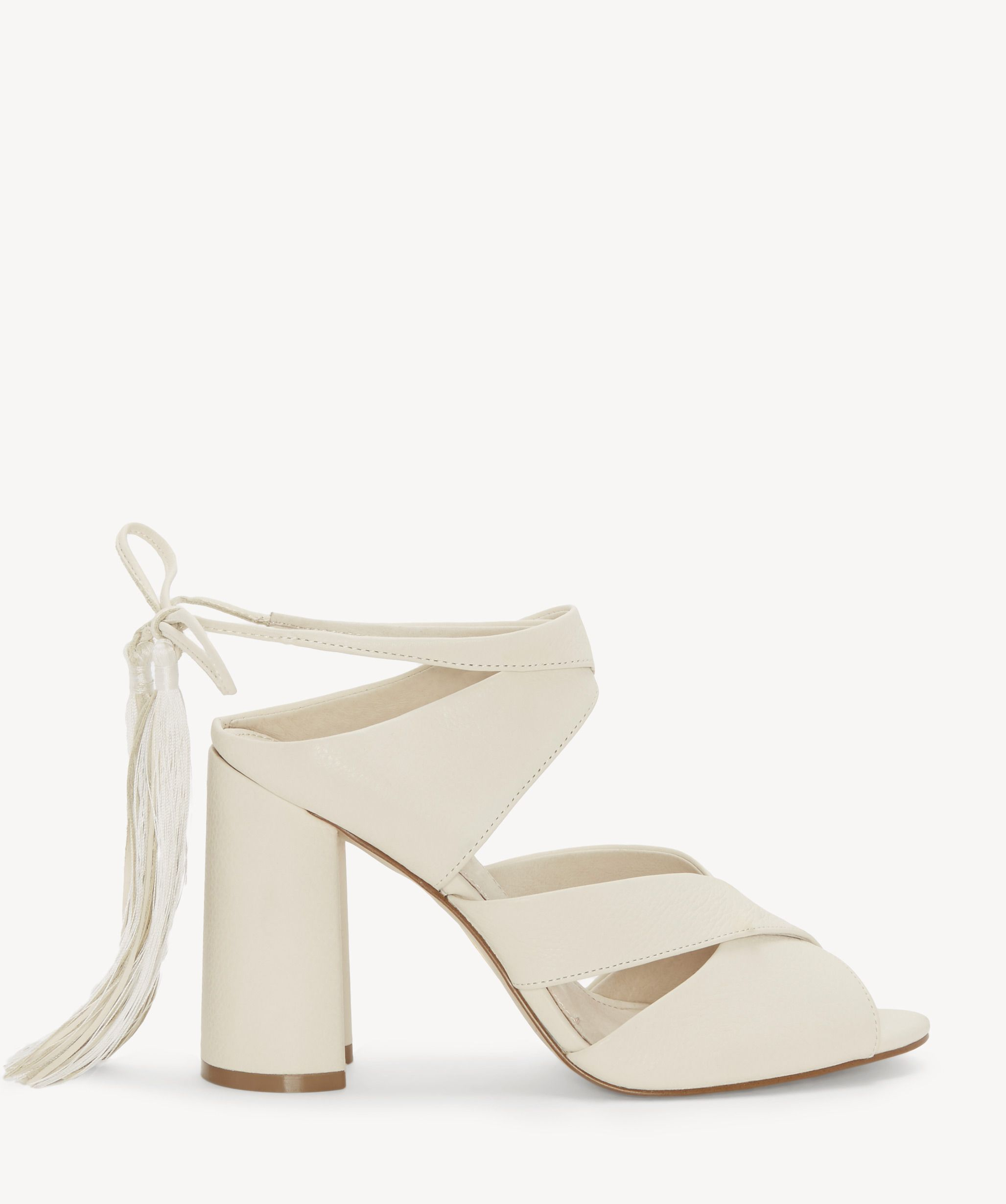 c713752b128a Louise Et Cie Women's Kaelina Strappy Block Heels Sandals Vanilla | Size 10  Suede From Sole Society