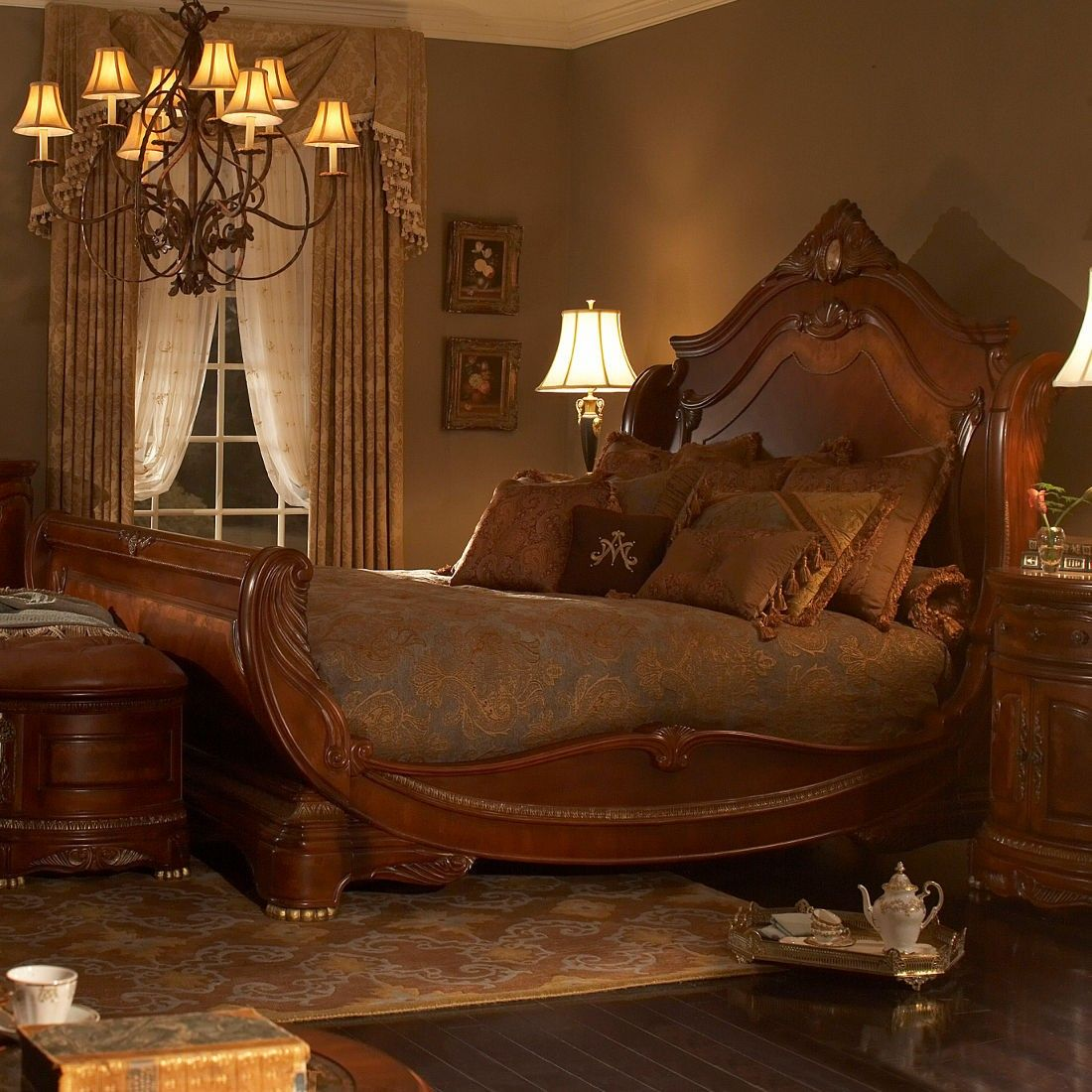Allow Your Bedroom To Be Transformed With The Elegance In Every
