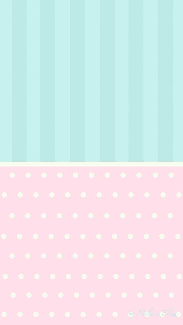 pastel mint green pink stripes dots spots iphone phone wallpaper background lock screen. Black Bedroom Furniture Sets. Home Design Ideas