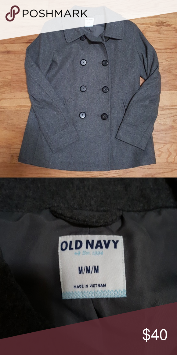f5c03de65b3 Cc sale old navy pea coat size medium navy pea coat navy jacket png  580x1160 Navy