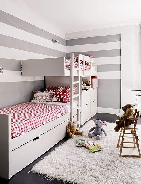 20 Room Design Ideas For Two Kids Shelterness Niñas Pinterest