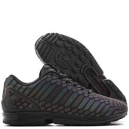 premium selection d4b2a 47e89 Adidas ZX FLUX XENO Black SZ 9.5-11.5 All Star Reflective ...