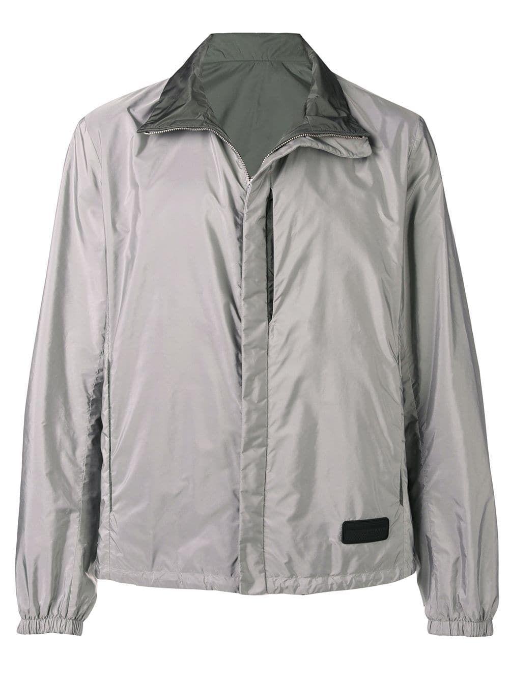 062ed097 Prada technical shirt jacket - Grey in 2019 | Products | Jackets ...