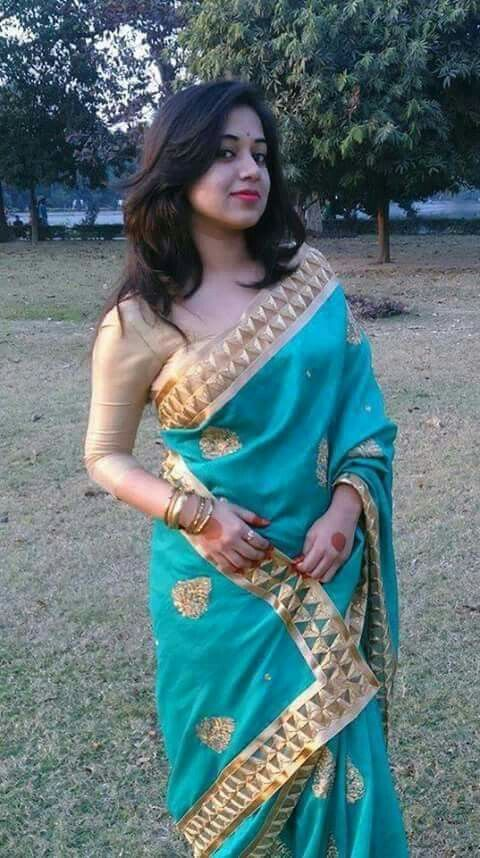 Decent Saree Blouse Designs