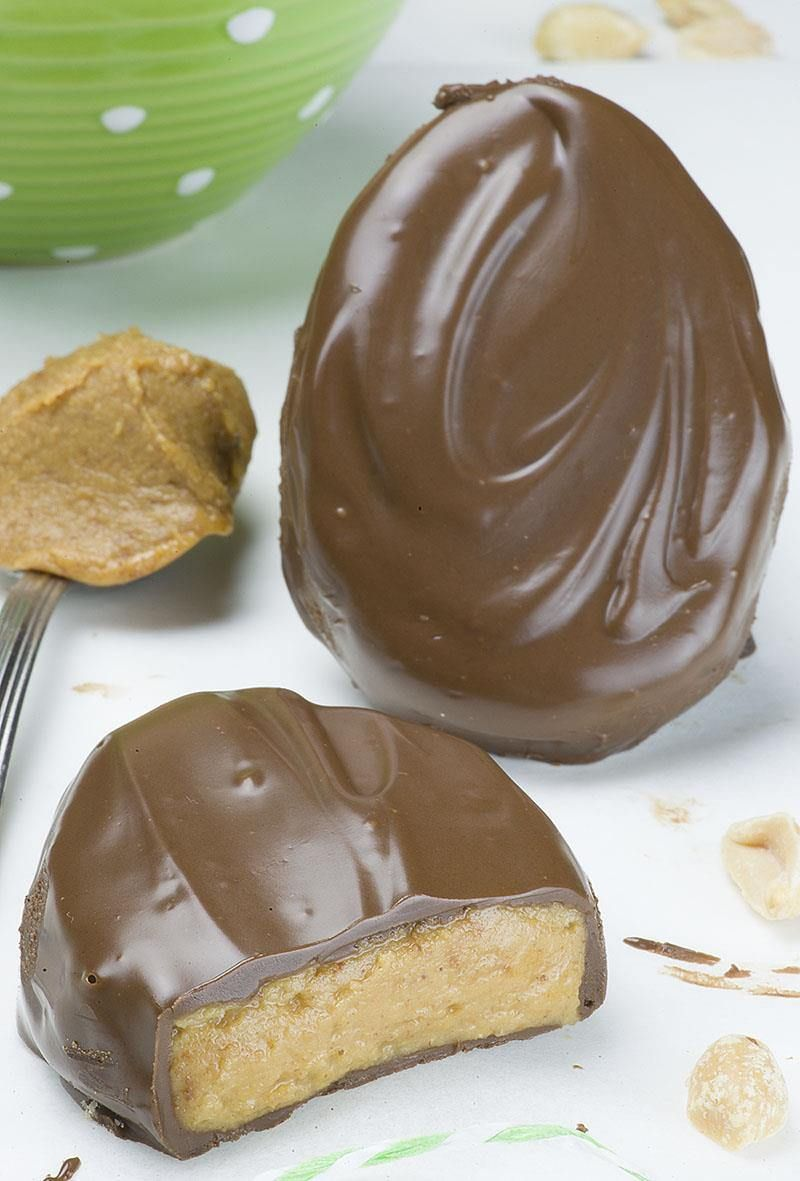 Homemade Chocolate Peanut Butter Egg