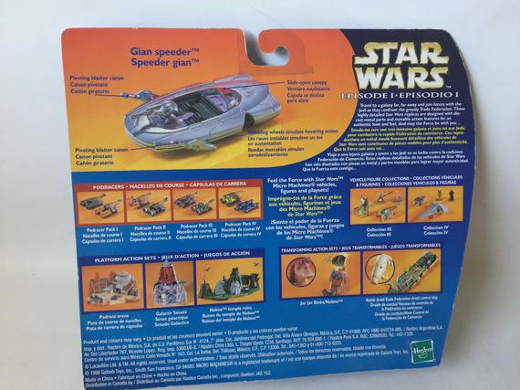 Star Wars Micro Machines Episode I Gian Speeder