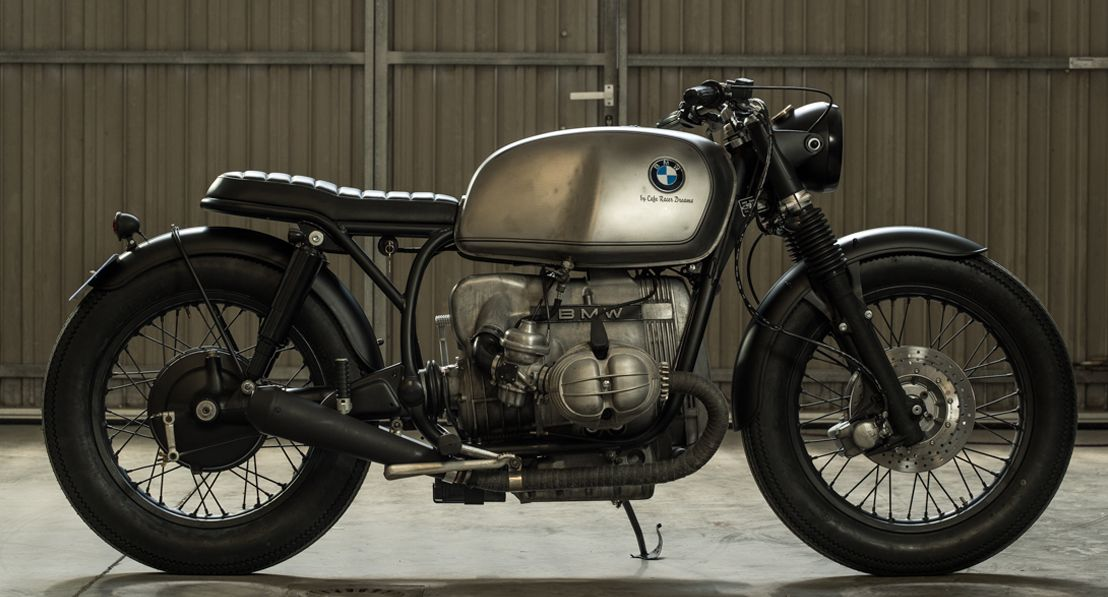 Crd65 Cafe Racer Bmw R100 By Cafe Racer Dreams Madrid Con