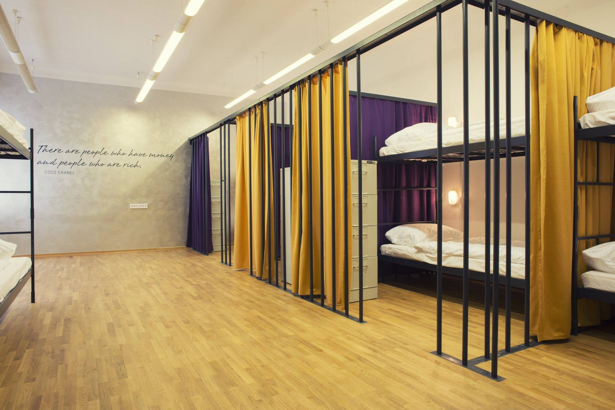 design hostel tresor ljubljana slovenia hostel design