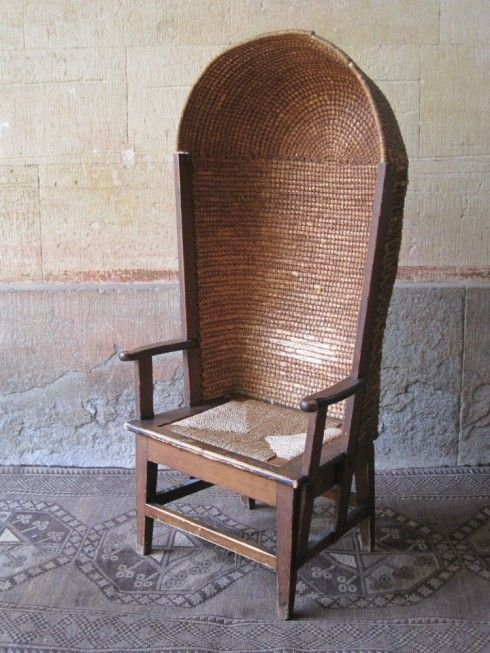 Antique hooded Orkney chair. - Antique Hooded Orkney Chair. Furniture Pinterest Cafe Tables