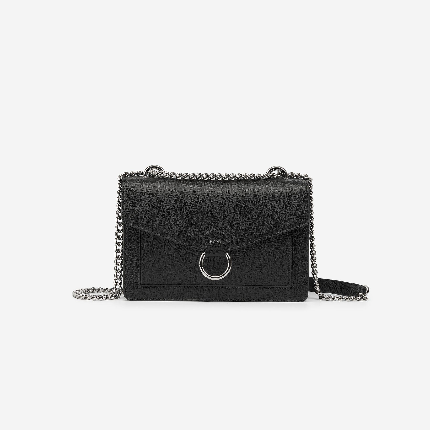 Purse Strap Replacement  Adjustable Microfiber Leather Cross body Bag Black