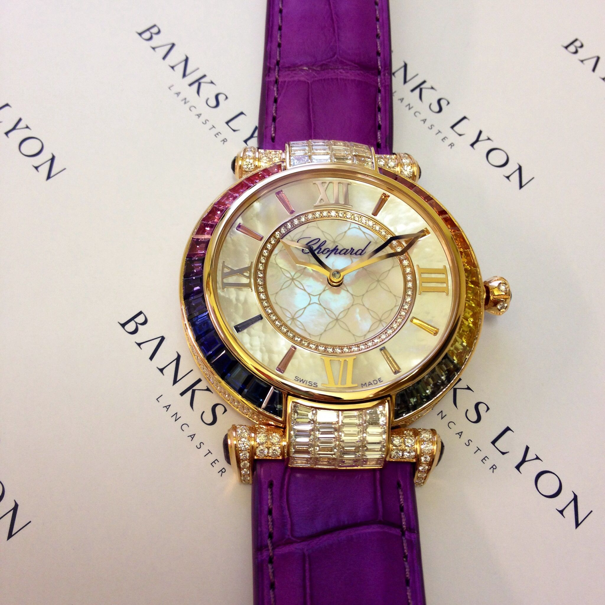 Breathtakingly stunning Chopard Imperiale 40mm, encrusted