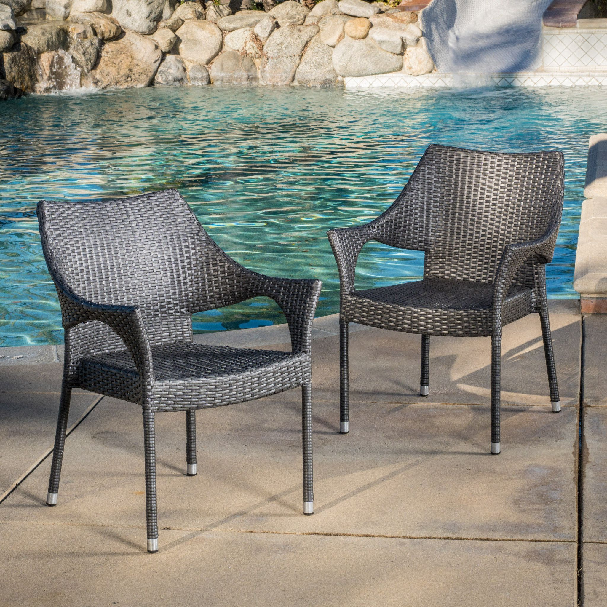 wicker chairs by cushions chair free christopher piece shipping home outdoor overstock product set chat garden today knight with