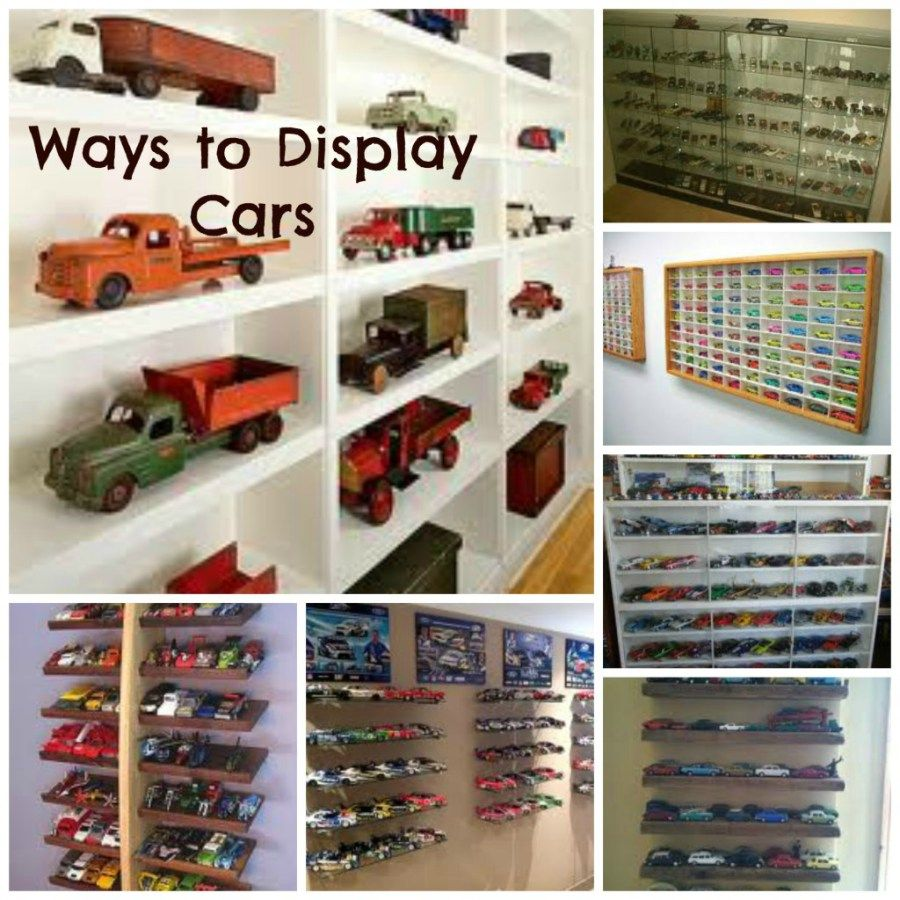 How to Display a Man's Collections - From Tonka Trucks to Star Wars