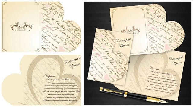 Wedding Invitation & Stationery Set PSD Template