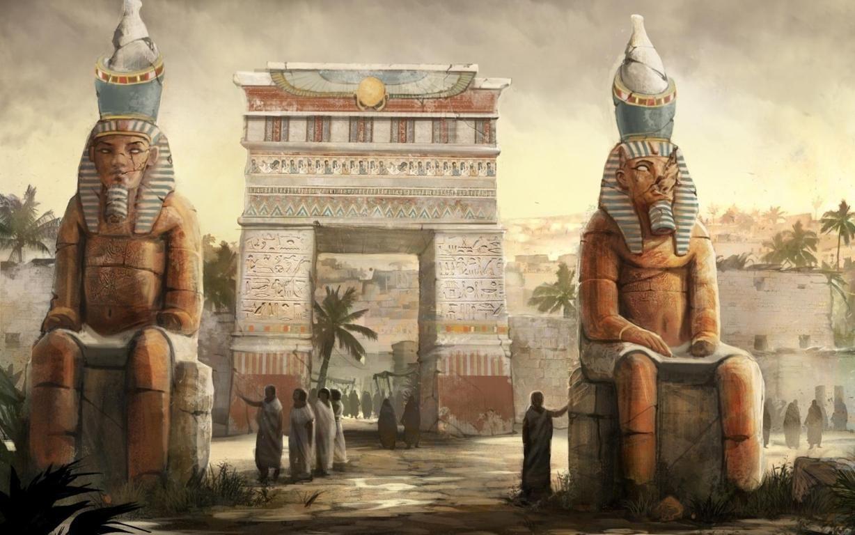Egypt In His Golden Ages Hd Wallpaper Hd Wallpapers Quality Hd Desktop Wallpapers Egypt Art Egypt Concept Art Egypt