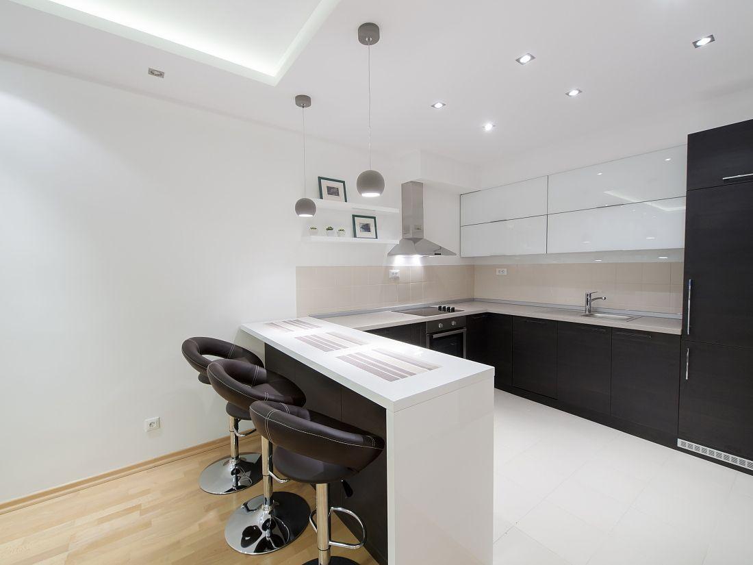 Black - White Day - Night Yin - Yang   Kitchen ❖ Cozinha ...