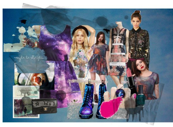 """Little cosmic dress , big adventure"" by habbeyheartz on Polyvore"