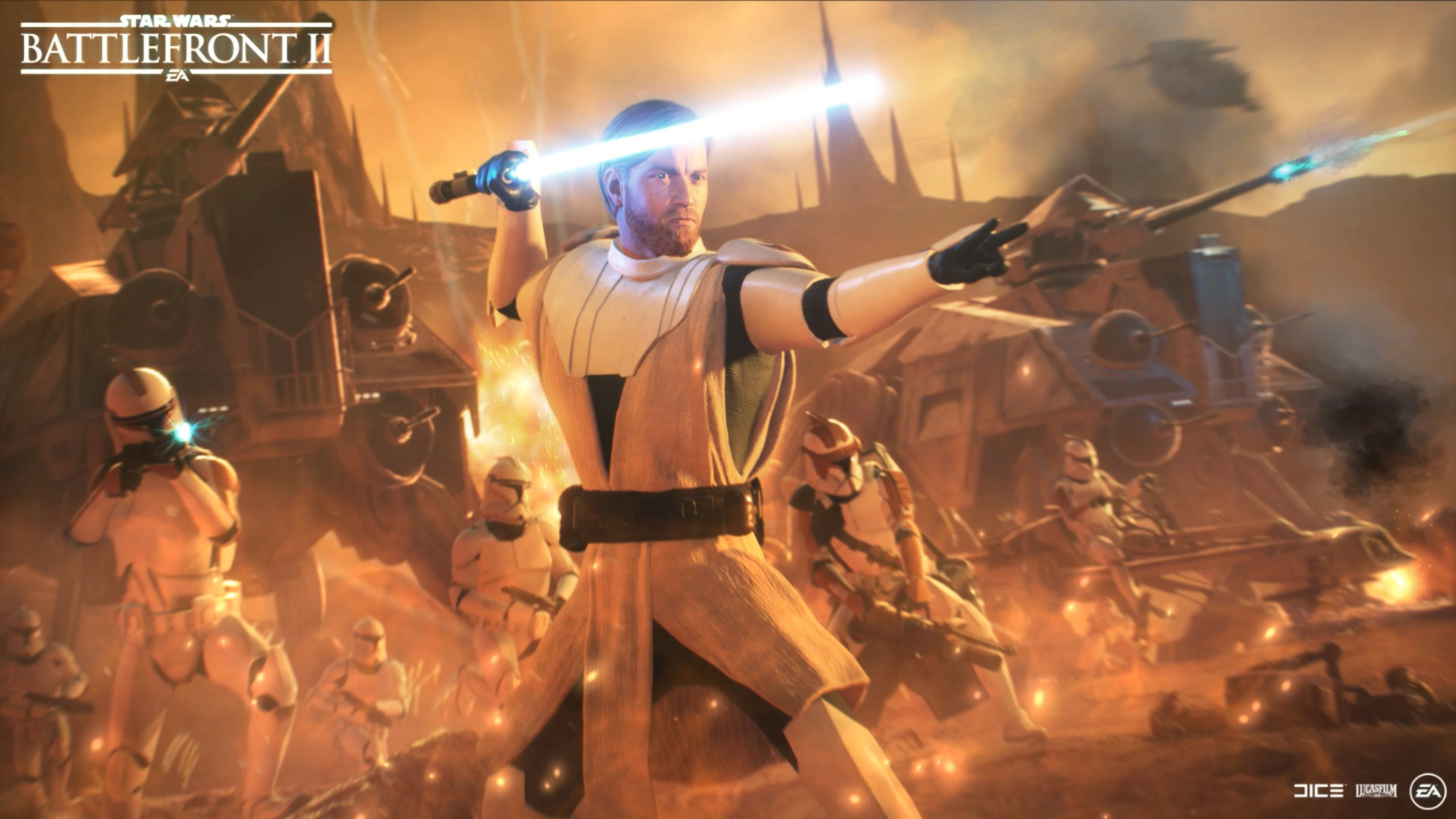 Obi Wan Kenobi Promotional Art Live Wallpaper