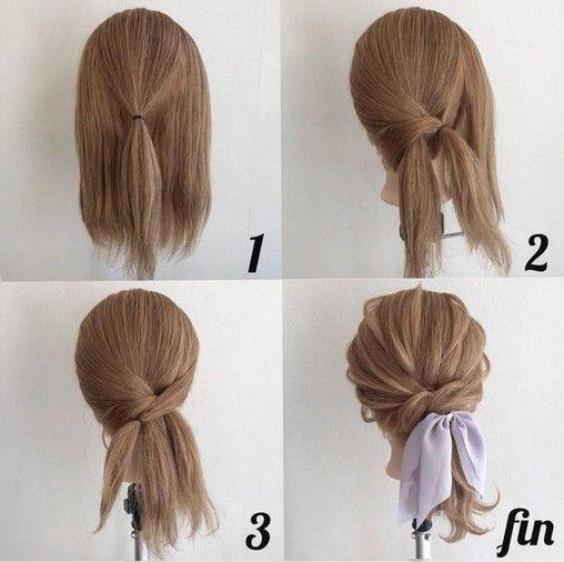 20 Most Easy And Pretty Hairstyle Design For Medium Length Hair Diy Armaweb07 Com Hair Arrange Hair Styles Short Hair Styles
