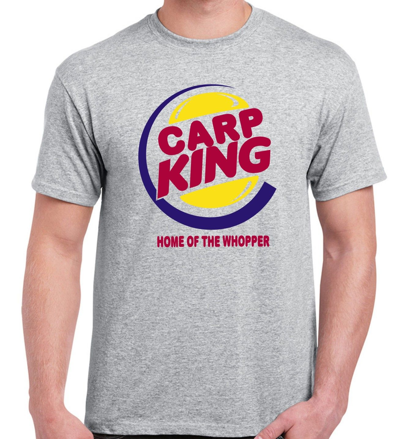b5e9b84e Carp king fishing T-shirt | Fishing T-shirts | Fishing t shirts ...