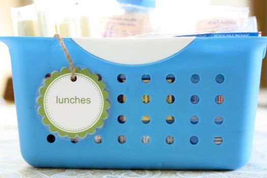 """System for School Lunches- I want to pin 2 pictures. one for """"lunches only"""" refrigerator items and one for the lunch box things. go look go look!! :)"""