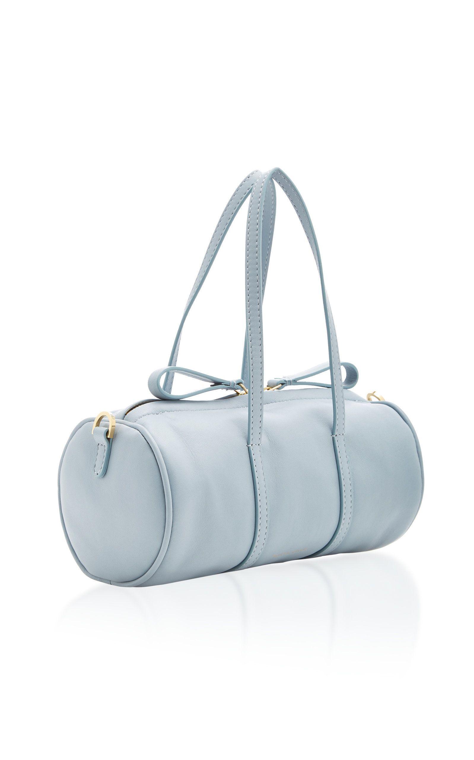 MansurGavriel Gym Mini Leather Duffle Bag  ece3d987a89d9