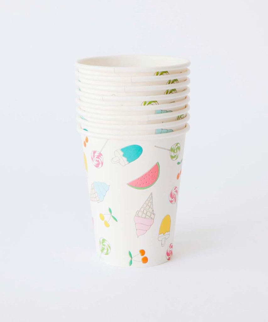 Summertime Party Cups – Oh Happy Day Shop
