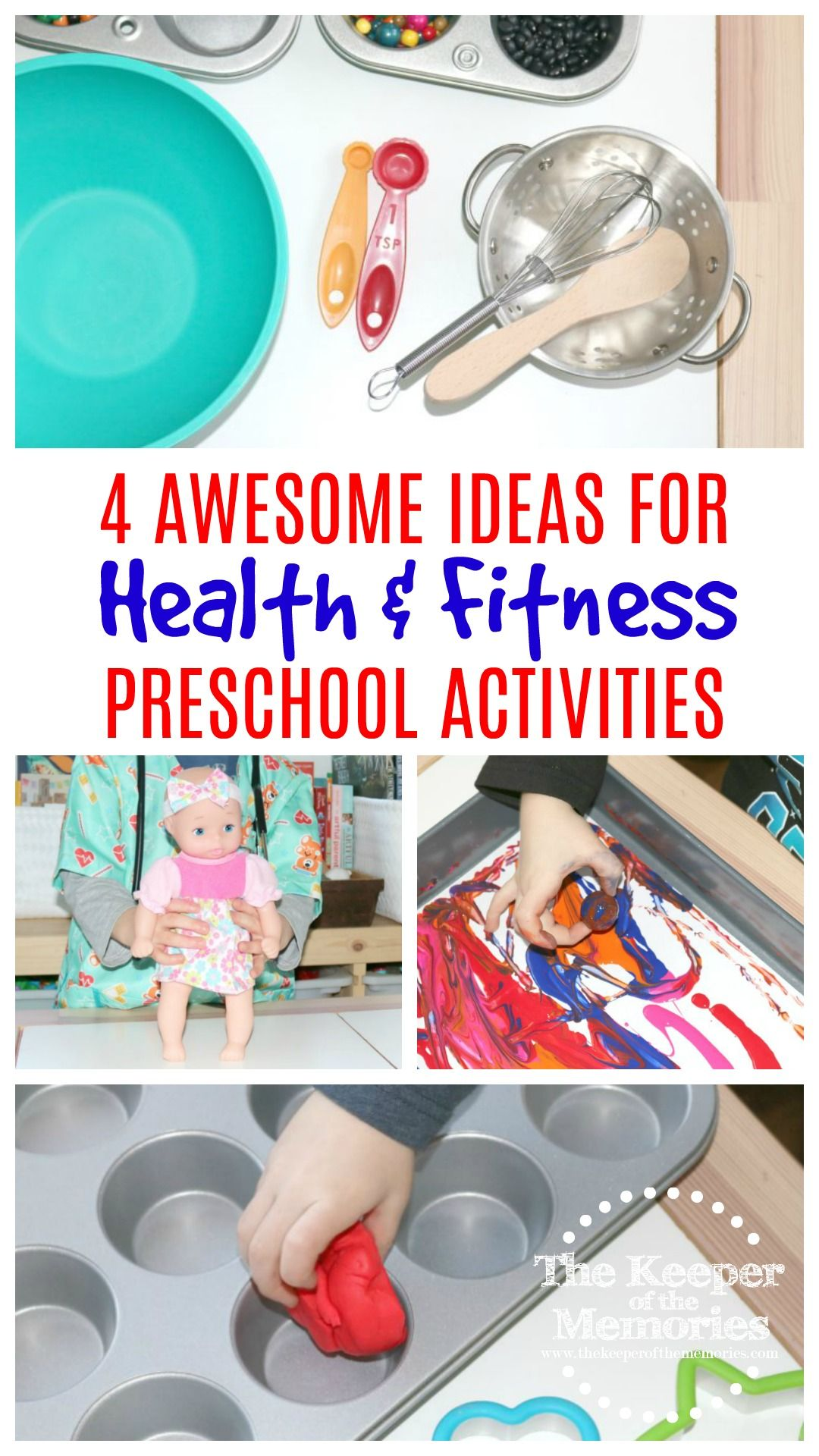 4 Fun Health Amp Fitness Preschool Monthly Theme Ideas For