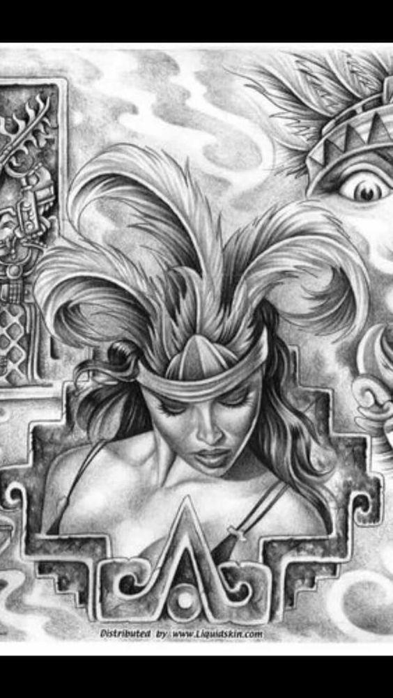 Cihuacóatl Mujer Guerrera Y Amante De Los Guerreros Dibujos Para
