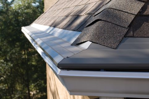 How Much Do The Rain Gutters Cost Is The First Thing That Pops Up In The Mind Gutters And D How To Install Gutters Rain Gutter Installation Gutter Repair