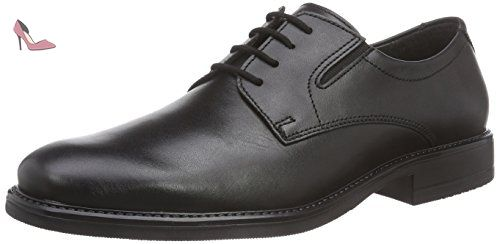 FRETZ men Andrew, Derby homme - noir - Schwarz (Noir), 46 EU(11 UK) -  Chaussures fretz men (*Partner-Link) | Chaussures Fretz Men | Pinterest