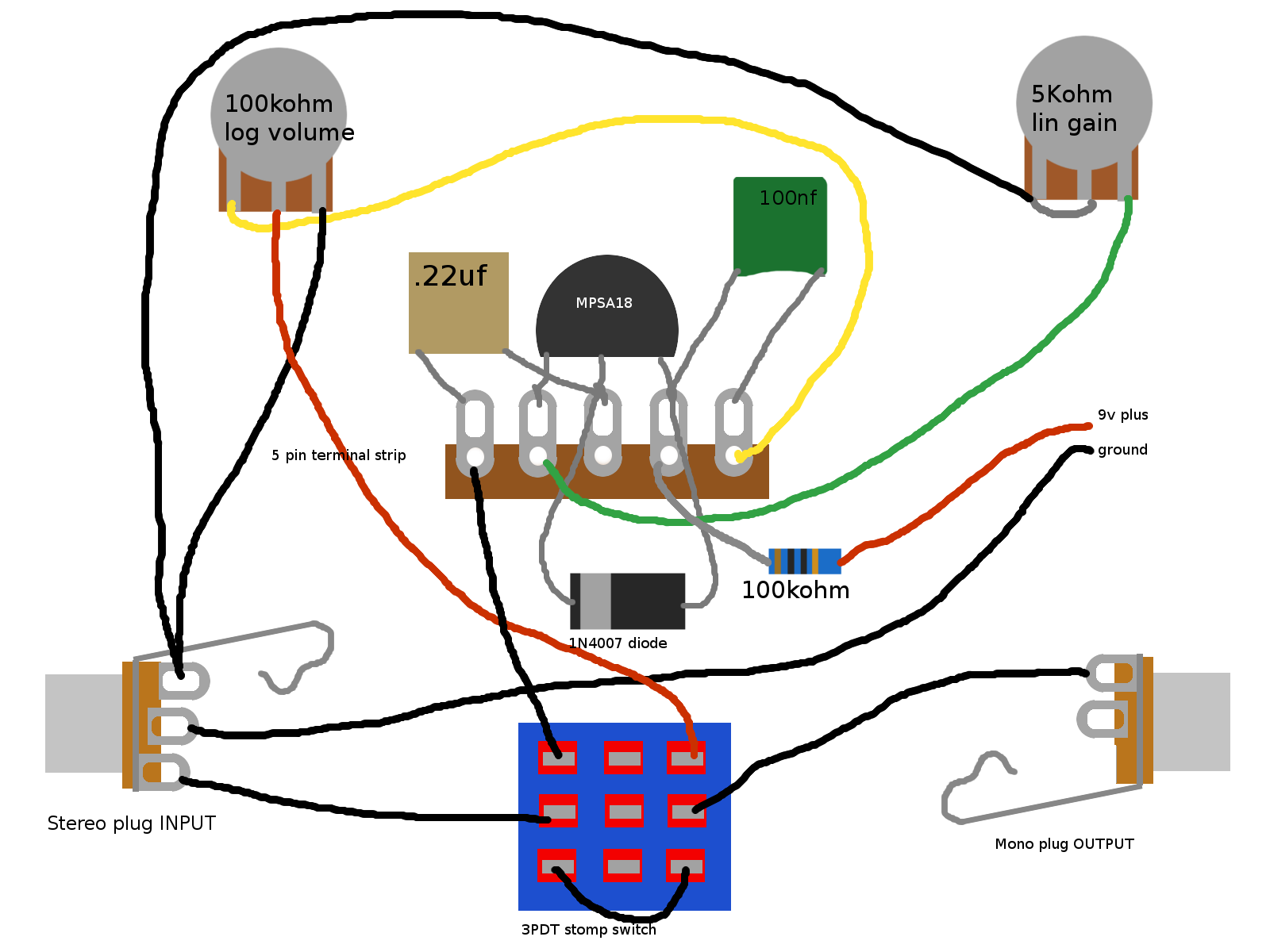 will this be a good first build? in 2019 guitar wiring diyfuzz pedal enclosure 112x60x31mm treble booster, electrical engineering, guitar pedals, electronics projects