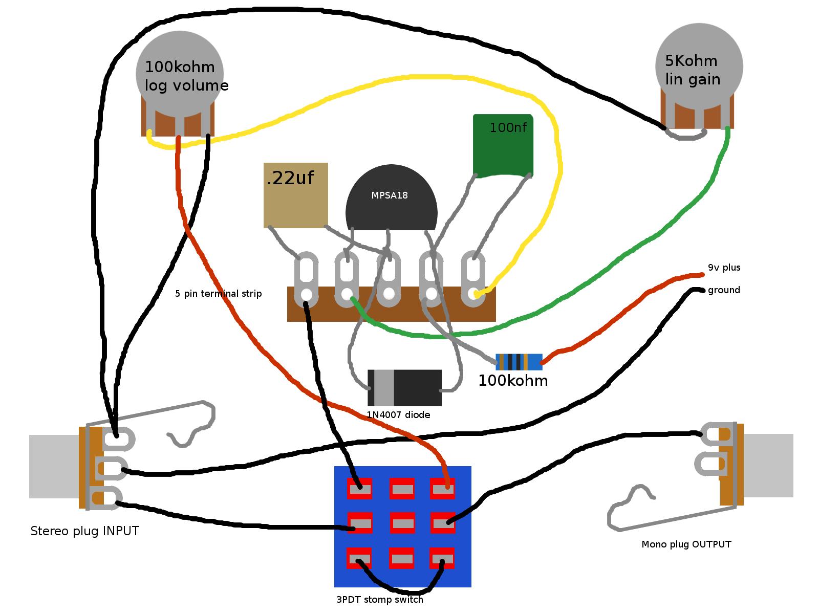 fuzz face wiring diagram doctor tweek v2 guitar 2 pickup 1 volume tone 3pdt schematic board best library jimi hendrix diagrams