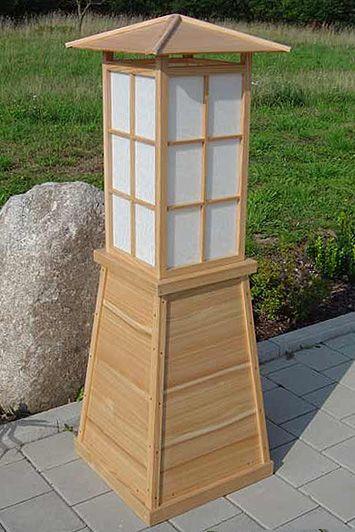 Japanische Gartenlampe Rustic Wood Projects Wooden Lamp Asian Lamps