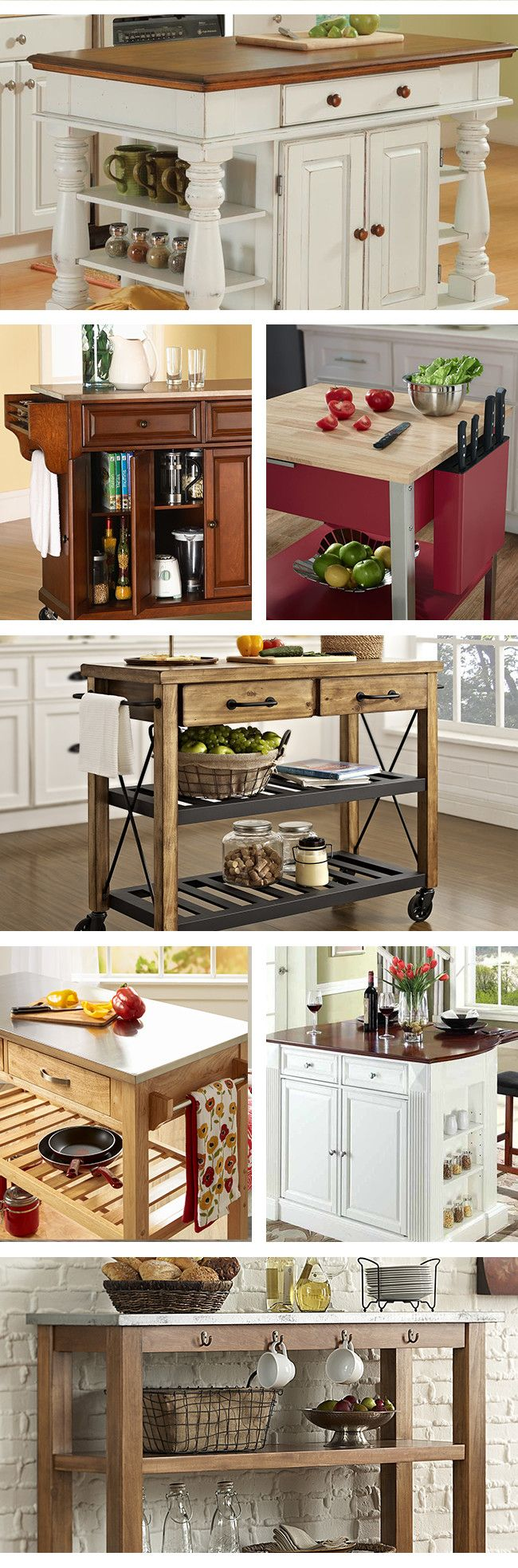Need additional workspace and storage in your kitchen without