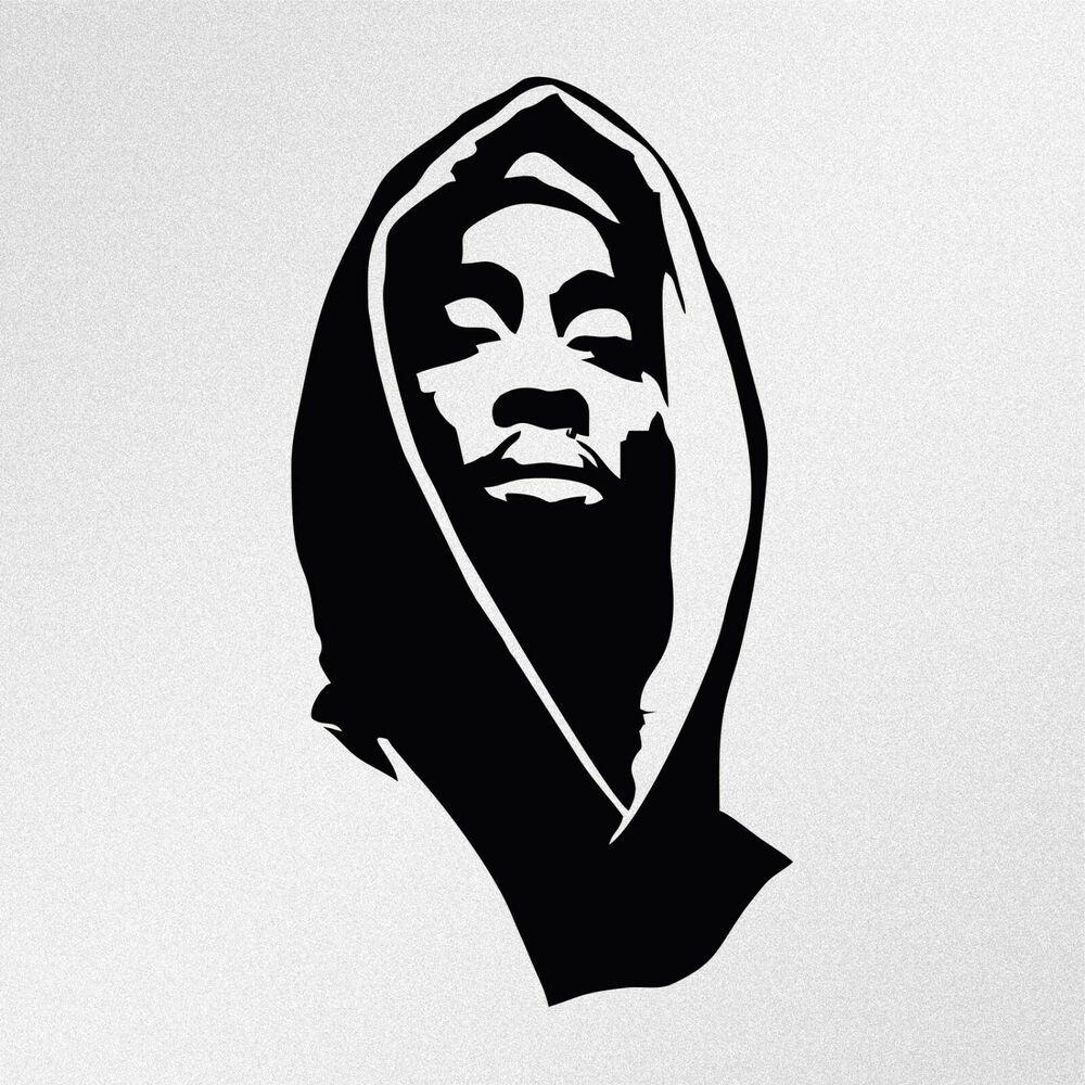 Tupacshakur Vinyldecal Tupac 2pac Artwork Tupac Tattoo 2pac Tattoos [ 1000 x 1000 Pixel ]