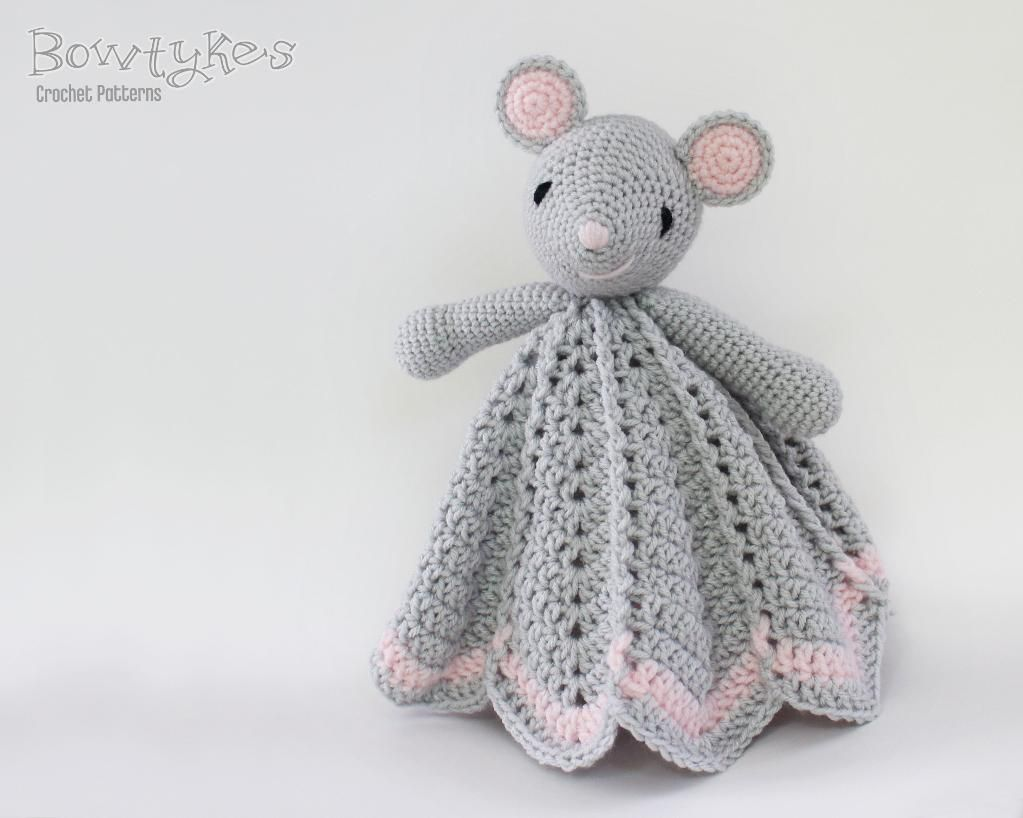 4) Name: \'Crocheting : Wee Mouse Lovey | muñecos | Pinterest ...