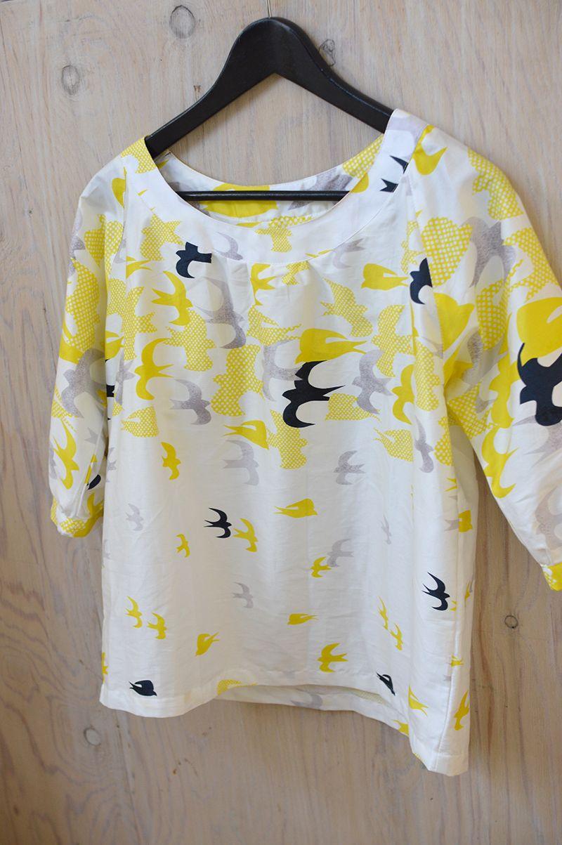 kokka-fabric.com cs68_raglan_blouse kokka06 Free pattern | Nähen ...