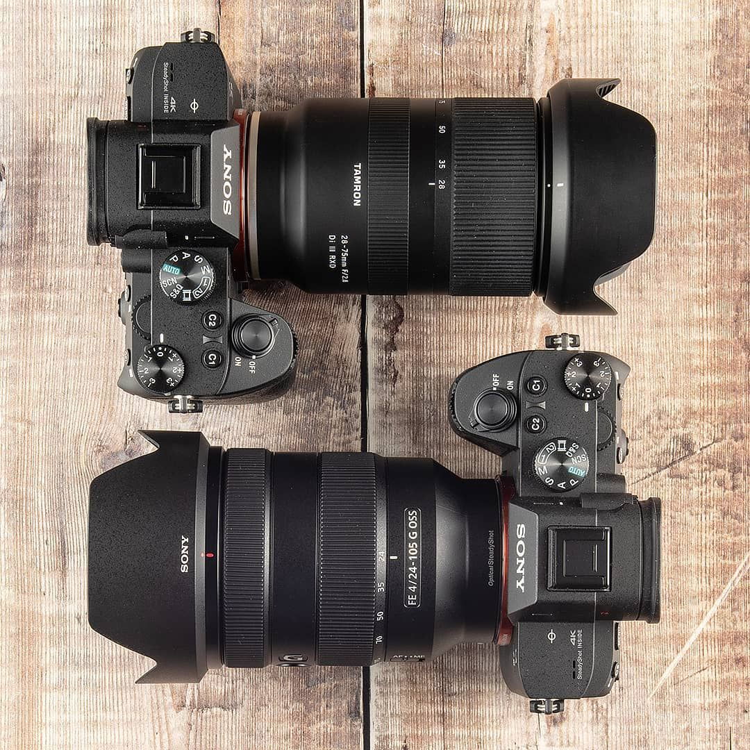 Sony Versus Tamron Zooms The Sony 24 105mm F4 Is A Popular Standard Zoom Lens For Alpha Shooters But The Tamron 28 75mm F2 8 Is Faster And Cheaper