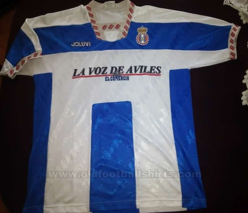 Real Avilés Football Shirt Unknown Year Football Shirts Football Shirt Designs Shirts