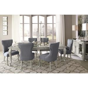 D650D1 In By Ashley Furniture In Monroe, LA   Coralayne   Silver Finish 5  Piece