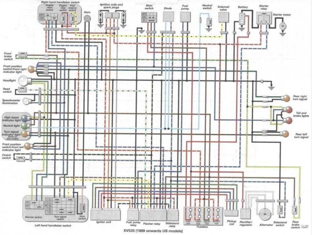 engine diagram vq8de yamaha  yamaha virago yamaha engines