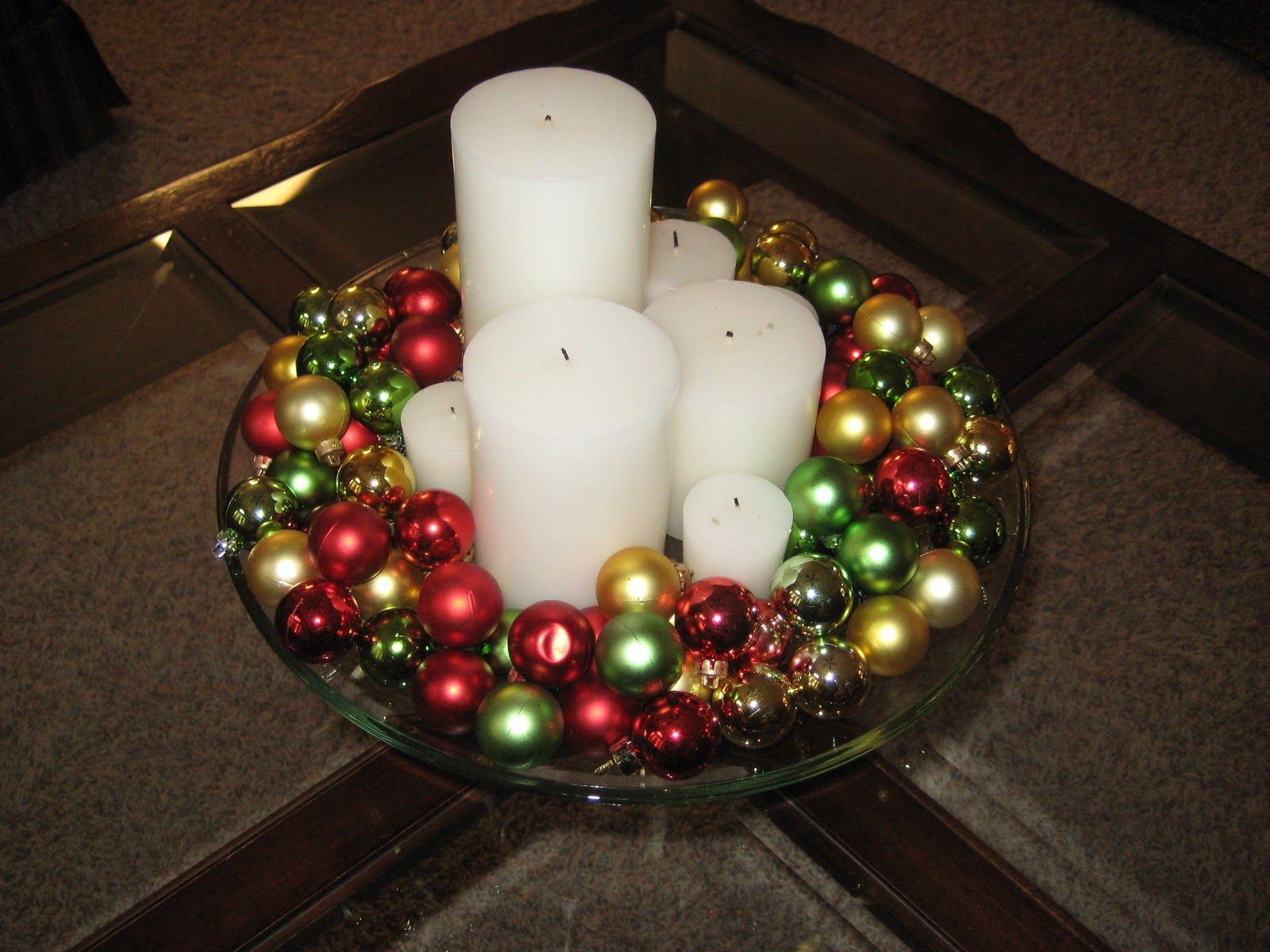 Christmas Ball Decoration Ideas 30 Beautiful Christmas Centerpiece Ideas You Must Try  Christmas