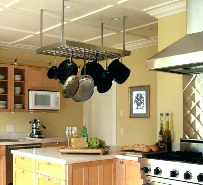 1001 + Idées pour un rangement placard cuisine + rangement cuisine   Kitchen rack, Pot rack ...