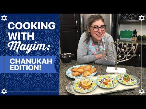 2 How To Cook Latkes for Hanukkah  Mayim Bialik  YouTube pfannkuchen for kids recipe einfach für kinder von Grund auf und pyjamaparty