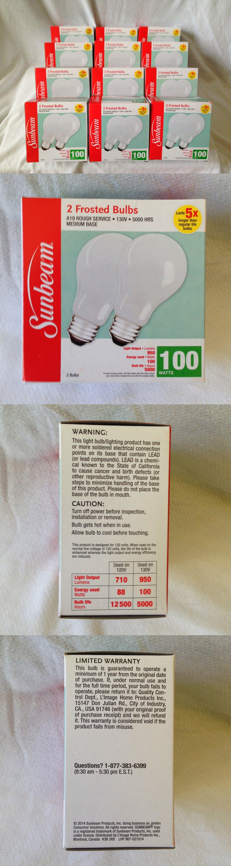 other home automation 48 sunbeam 100 watt long life light bulbs