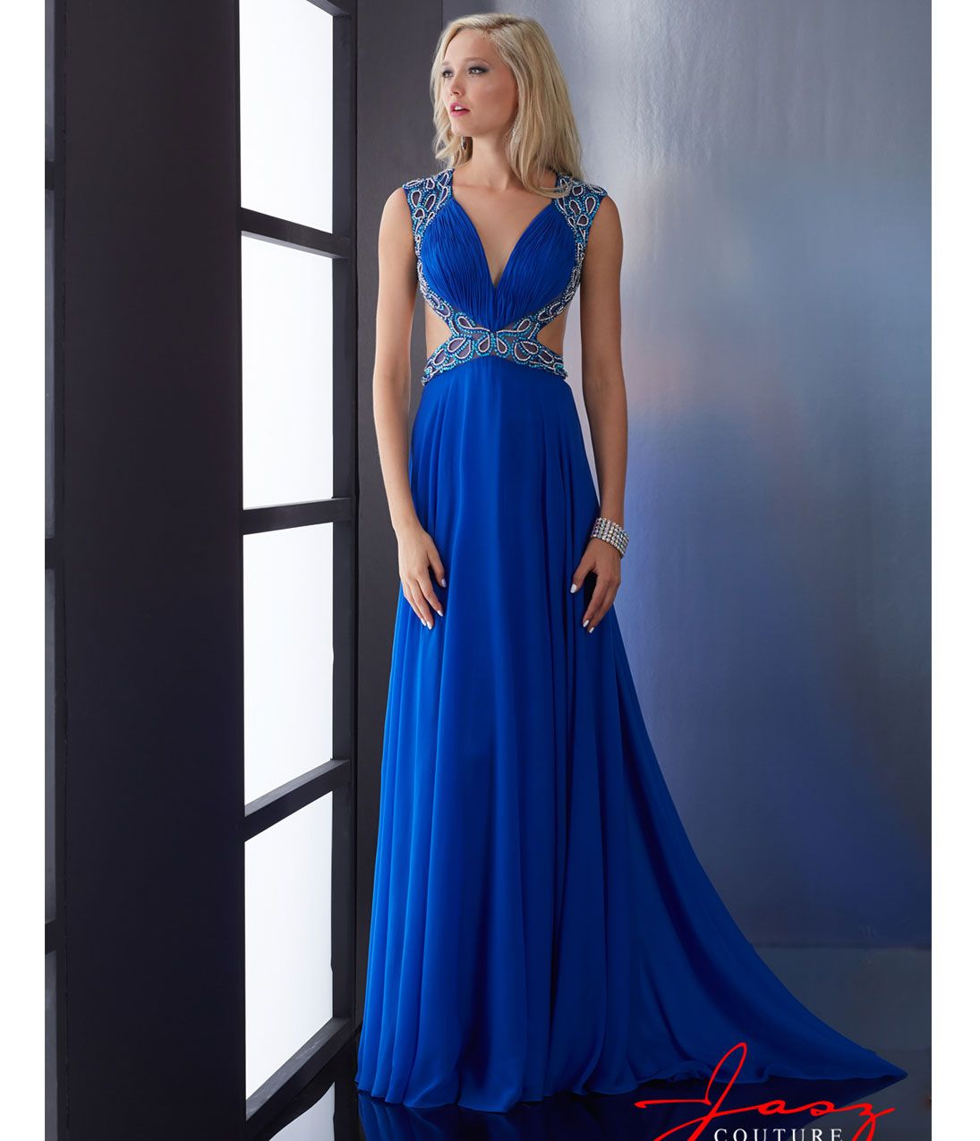 Discount Couture Dresses: Lovely Open Back Gown By Jasz Couture